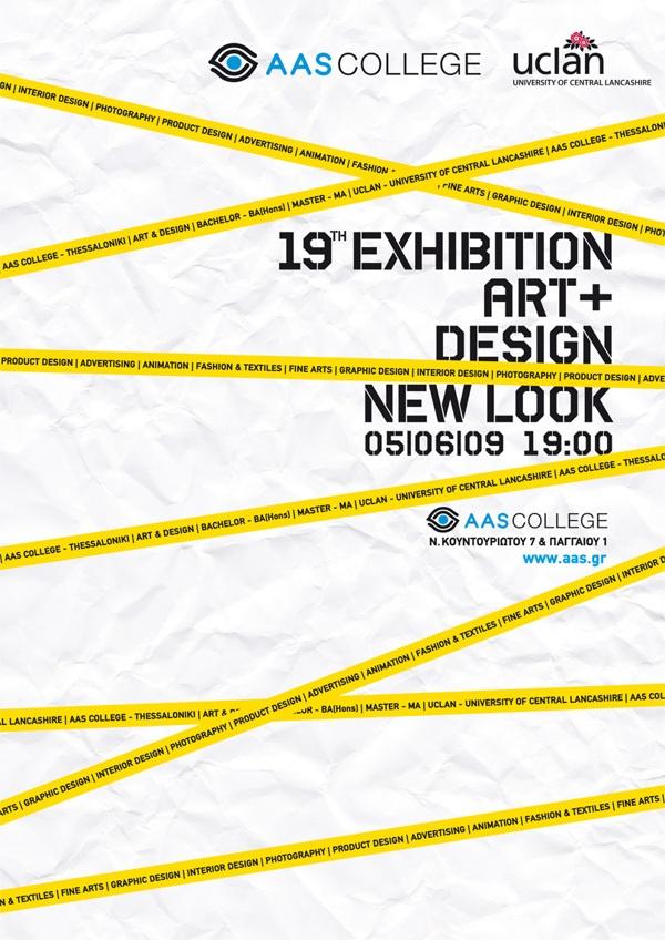 AAS art & design exhibition by metamorph , via Behance