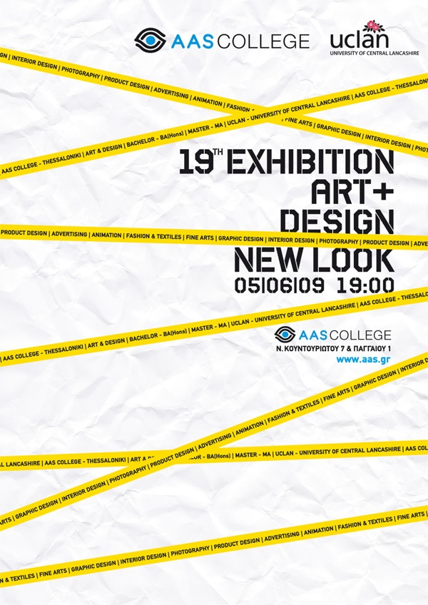 AAS art & design exhibition by metamorph , via Behance