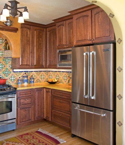 Tupper Kitchen And Bathroom Remodel With Spanish Ceramic Tile Mediterranean  Tile