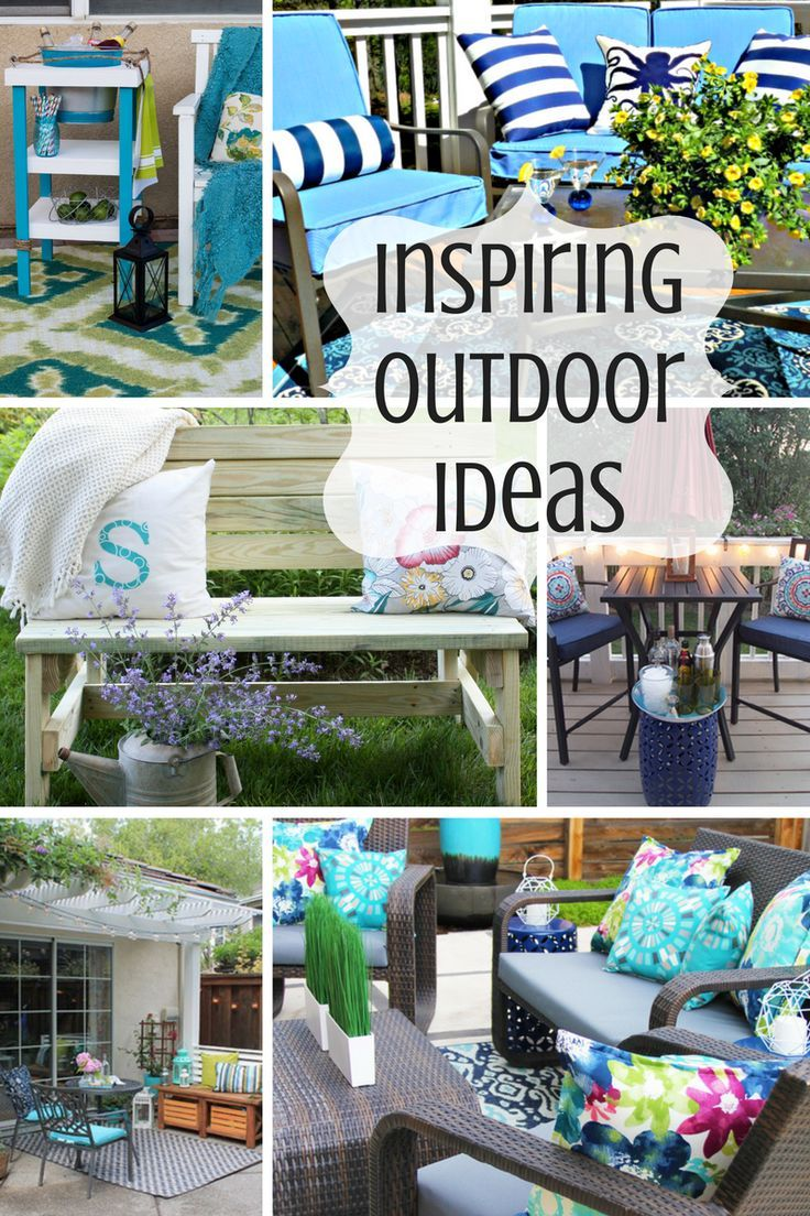 Funky backyard garden ideas - Beautiful And Inspiring Outdoor Decor Ideas