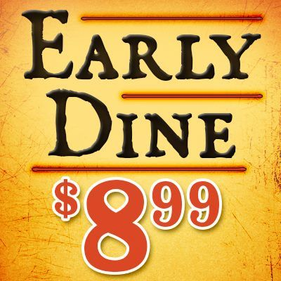 Come in early and save with our Early Dine selections! Click on http://www.pinterest.com/TakeCouponss/texas-roadhouse-coupons/ and select your favorite location for more details on days and times offered. Texas roadhouse coupons