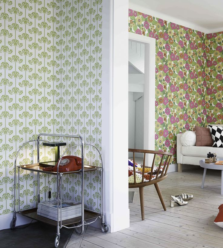 Interior Design Classic, Retro | Happy Wallpaper by Eco | Jane Clayton