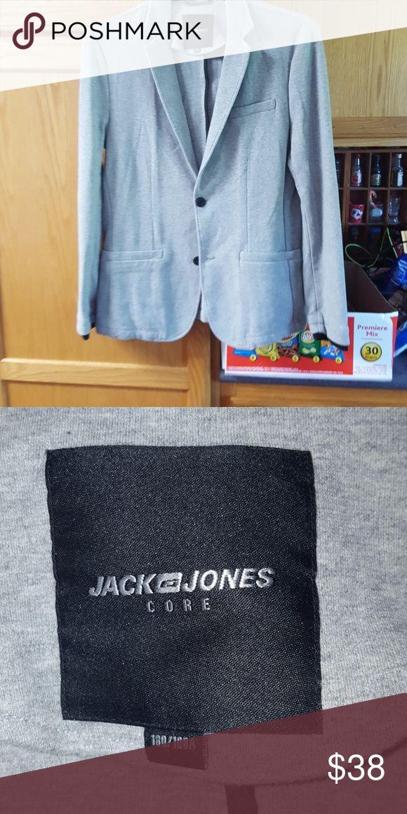 Jack and Jones men's button up jacket Gray men's jacket looks brand new Jack and Jones Jackets & Coats Lightweight & Shirt Jackets