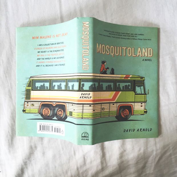 """BOOK OF THE DAY: Mosquitoland by David Arnold""""""""David Arnold's writing is both heartfelt and hilarious. You will fall in love with Mim, even as her grand journey will keep you guessing. Mosquitoland reminds us that sometimes imperfect is just..."""