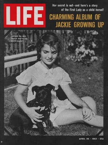 """Young Jackie Kennedy - Life Magazine, April 26, 1963 issue - Visit http://oldlifemagazines.com/the-1960s/1963/april-26-1963-life-magazine.html to purchase this issue of Life Magazine. Enter """"pinterest"""" at checkout for a 12% discount. - Young Jackie Kennedy"""
