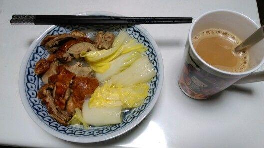 20160304 燒鴨米配怡保白咖啡