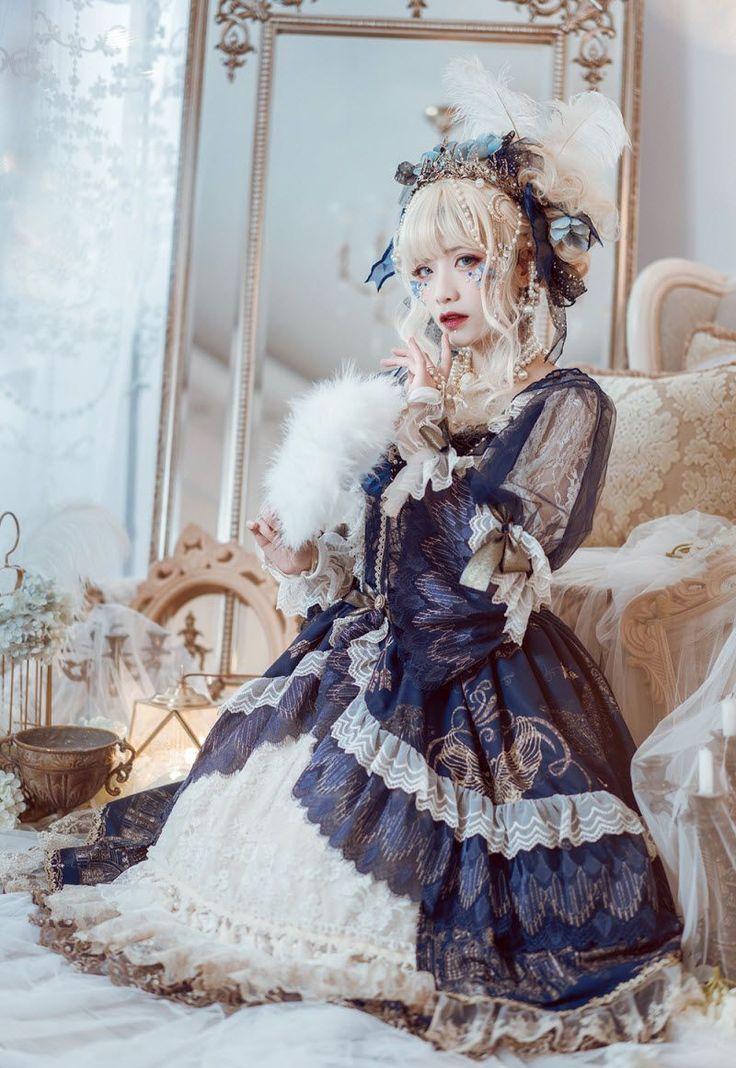 Wunder – Die Form des Meeres – Vintage Classic Lolita OP Dress #classicdresses   –   dress  