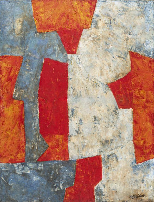 Serge Poliakoff Composition 1961