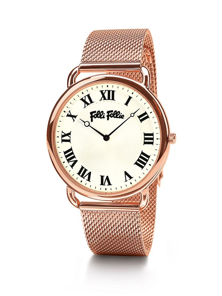 Awesome Buy Folli Follie Perfect match large rose gold watch, Rose Gold for £165.00 just added...