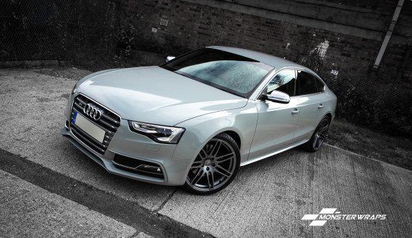 Audi S5 Nardo Grey wrap #Audi #cars #car #quattro
