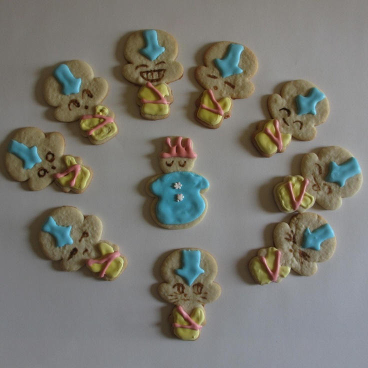 Check out these Avatar cookies my wife made!