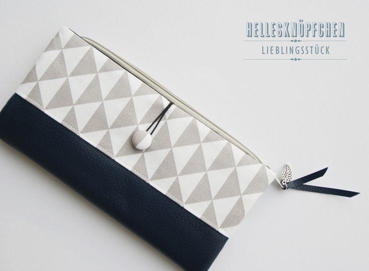 Portemonnaies - Portemonnaie-Geldbeutel - ein Designerstück von HellesKnoepfchen…