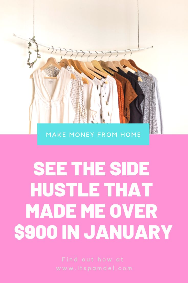 How I Made Over $900 on Poshmark!! | Flipping Thift Store Finds – Side Hustle Ideas at Home