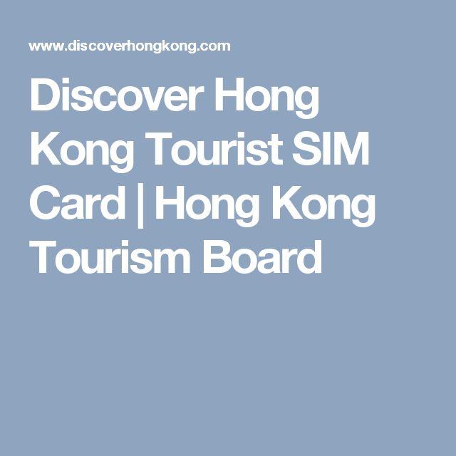 Discover Hong Kong Tourist SIM Card | Hong Kong Tourism Board