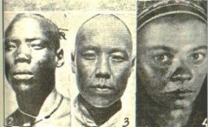 """DNA Evidence Proves That The First People In China Were Black: Scientist Li Hui proved 100,000 years ago humans began migrating through South  Southeast Asia into China from Africa. Testing showed 65 branches of Chinese all carry similar DNA mutations as the people of Southeast Asia. Scientist Jin Li said, """"we did not see even one single individual that could be considered as a descendant of the hοmo erectus in China, rather, everybody was a descendant of our ancestors from Africa."""""""