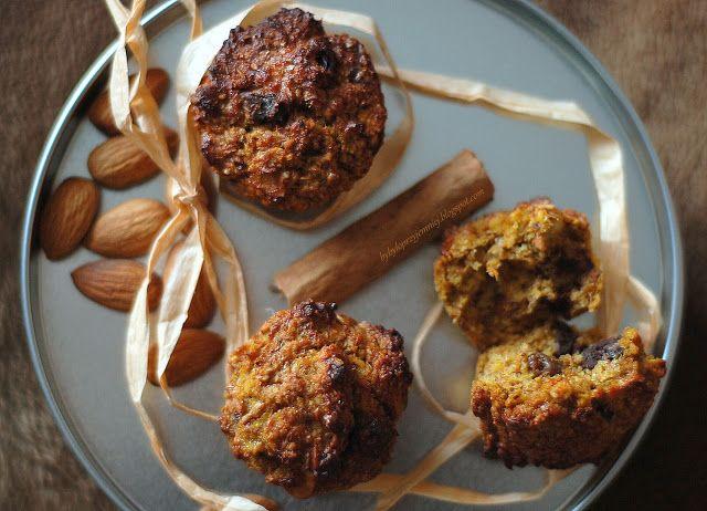 by bylo przyjemniej: Dyniowo-bananowe muffiny śniadaniowe