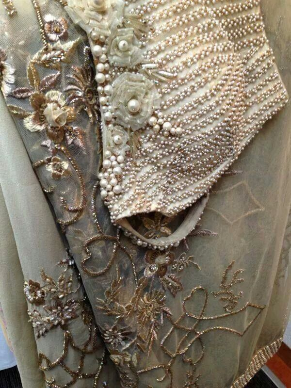 Pearls blouse