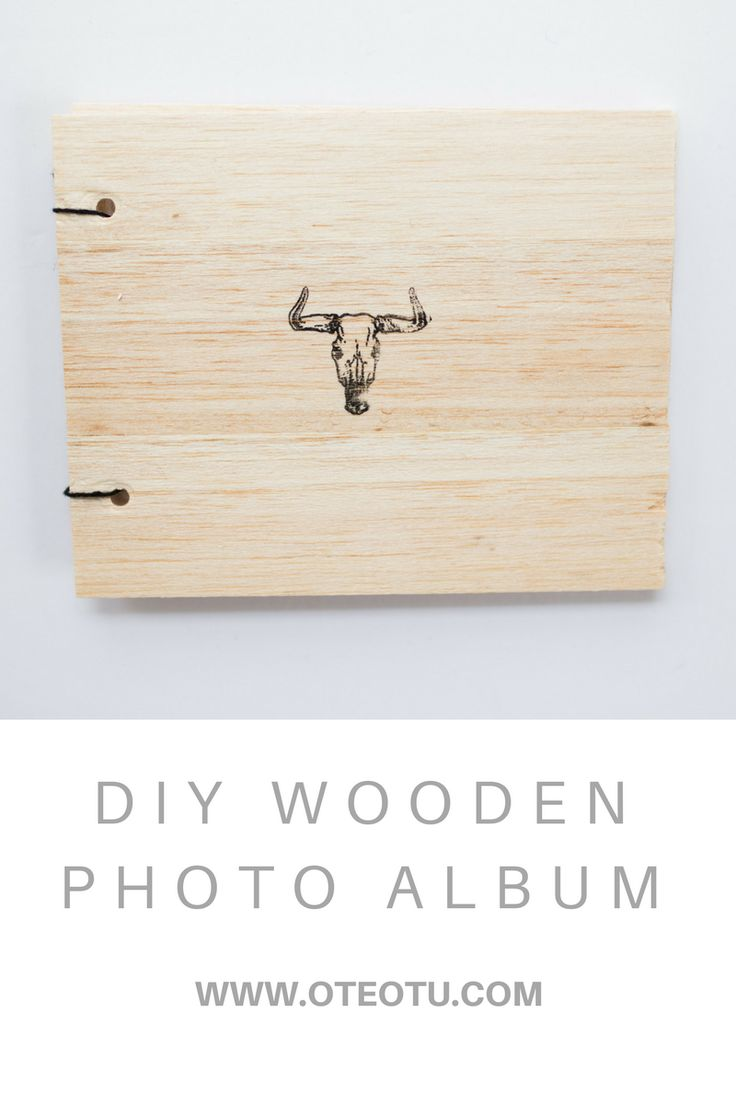 34 best diy images on pinterest minimalism the edge and do it diy wooden photo album solutioingenieria Images