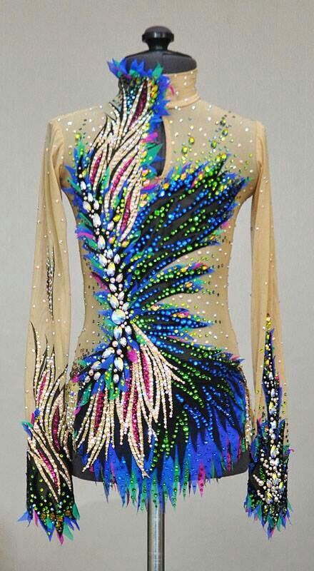 Competition. Lana's leotards
