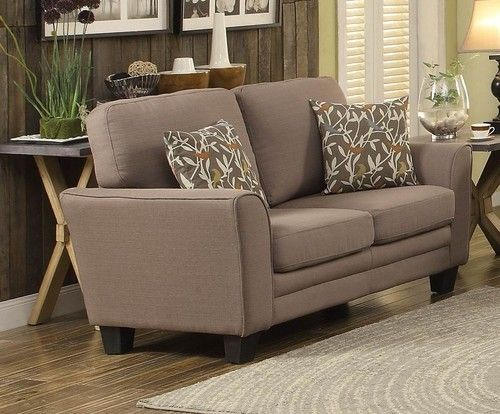 Homelegance Adair Collection Grey Loveseat 8413GY-2