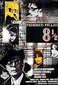 """""""Otto e mezzo"""" (8 1/2) by Federico Fellini."""