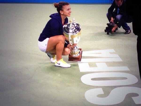 Simona Halep Tournament of Champions. Sofia