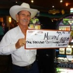 Congratulations to Melvin from Texas––on August 16 he won $1,600 playing a Triple Double Diamond slot game!