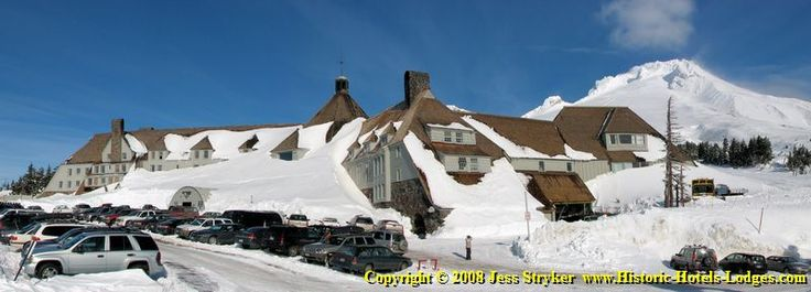 the Timberline Lodge in American Arts and Crafts