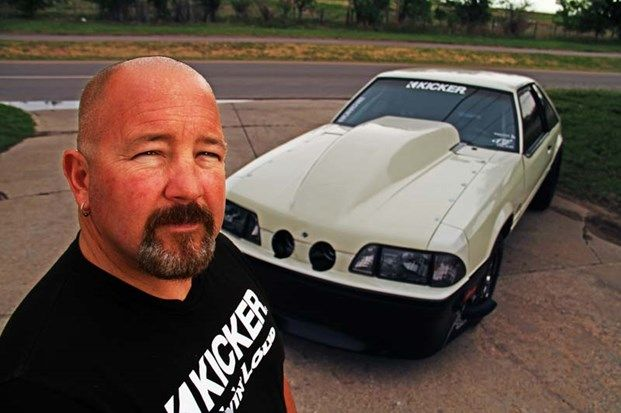 Street Outlaws, Chuck Seitsinger. 1989 Ford Mustang 'Death Trap' - Kicker Equipped