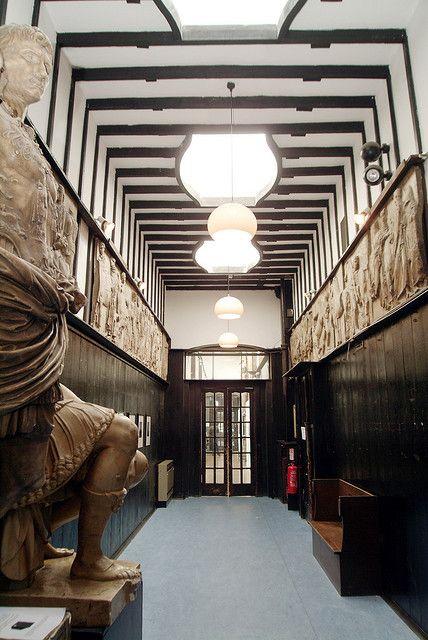 Corridor, First Floor, Mackintosh Building (East) by The Glasgow School of Art, via Flickr