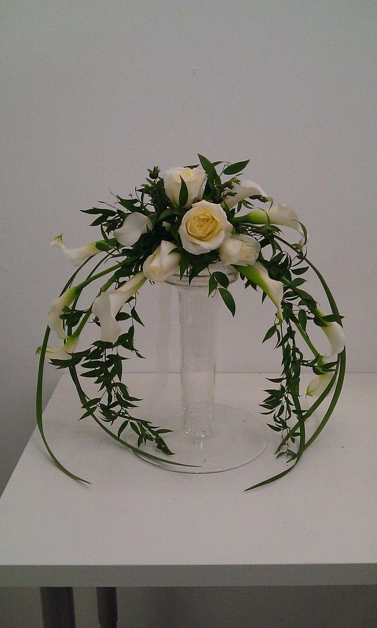 18 Best Crescent Shaped Flower Arrangements Images On Pinterest Floral Arrangements Flower