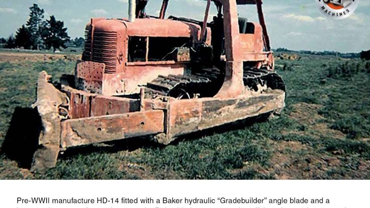 Allis-Chalmers HD-14 tractor slideshow with captions: May 2017