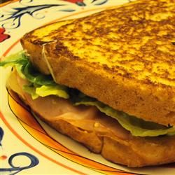 Hot Ham and Cheese -  I love making this easy grilled ham and cheese sandwich on a cool night.