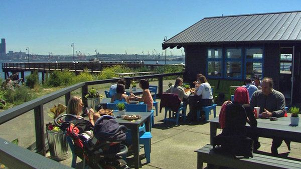 Marination Ma Kai - West Seattle Seattle's Top 5 Restaurant Patios
