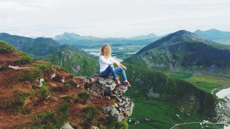 hiking, Lofoten Islands, Norway. traveling, adventures, mountains
