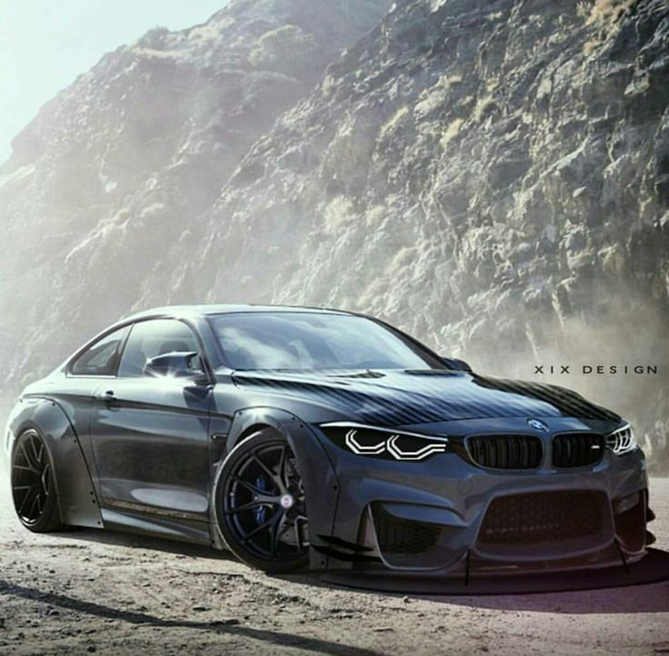 Pimped out bimmer