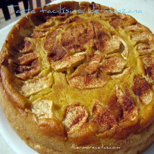 Facilísima tarta de manzana