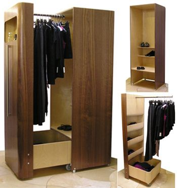 Small Space Wardrobe by N.J. Dean