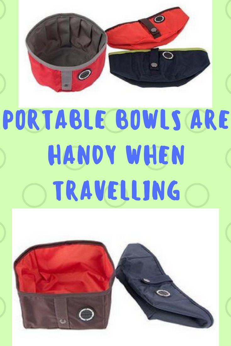 Handy Portable Dog Bowls Dog clothes, Designer dog