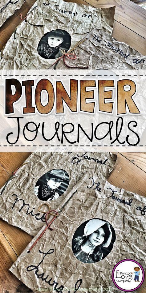 Classroom DIY: Pioneer Journals