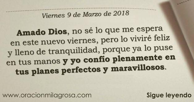 Amado Dios, hoy acudo ante Ti, con un corazón lleno de dicha y fidelidad, a darte gracias por este nuevo día, ya que con él, tengo la oport...