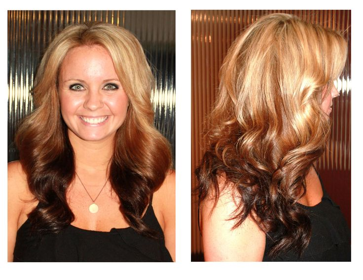Blonde Ombre Hairstyles Colors: Reverse Ombre....cool If You're Blonde. :)