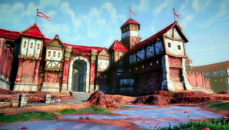 Town of Freeport, EverQuest Next, photoshoped screenshot, Aug 2010