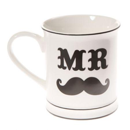 Mug - Mr Moustache - hardtofind. $24.95 #hardtofind #hard #find #gift #colour