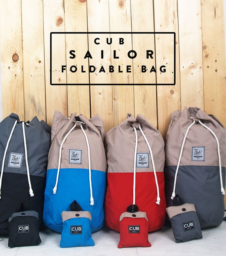 CUB Traveler Sailor Bag, Black, Blue, Red, Gray with Duo Tone funky color.... choose what color you want for companion on your short trip or daily use, #sailorbag #bags #duotone #sailor #foldable #holiday #traveling #simple #lifestyle