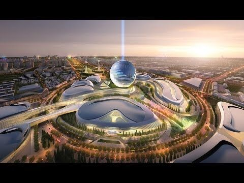 Dubai Expo 2020 Master Plan Youtube 2050 Future