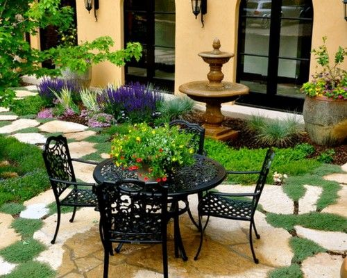 dry river beds rock garden ideas garden patio ideas for how to - Rock Garden Patio Ideas