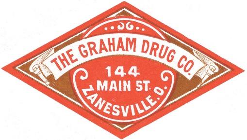 Barber Zanesville Ohio : The Graham Drug Co. Zanesville, Oh. Vintage Pharmacy Packaging ...