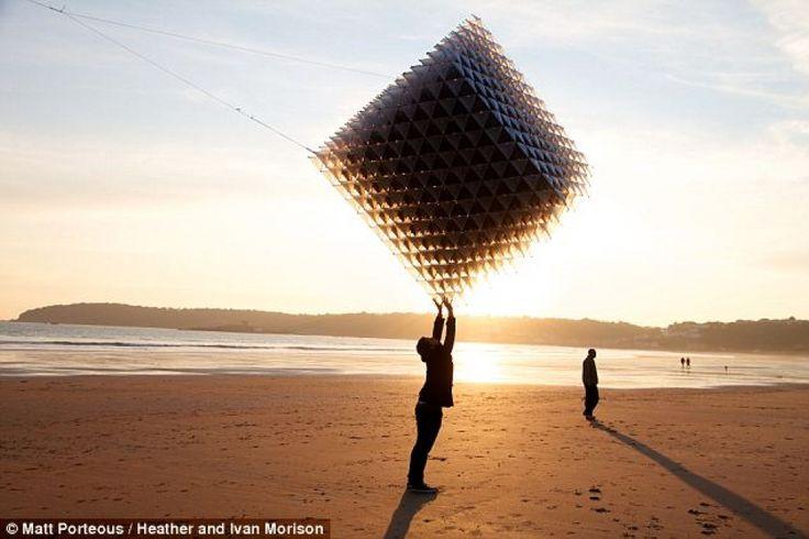 Kite uit de 3D-printer - Foto's | Quest Braintainment