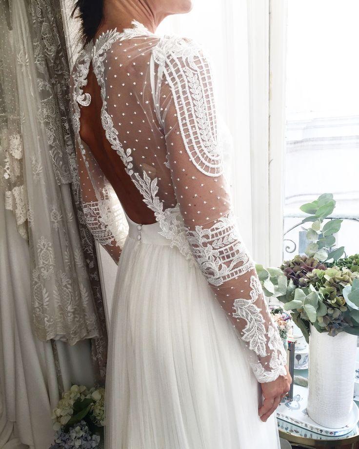 Robe de mariage ,Iratxe Novia Alicia Rueda
